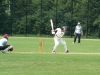Mehda Daub (Germany) batting against Estonia