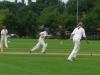 Ziegler running between the wickets
